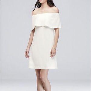 Dresses & Skirts - White off shoulder dress